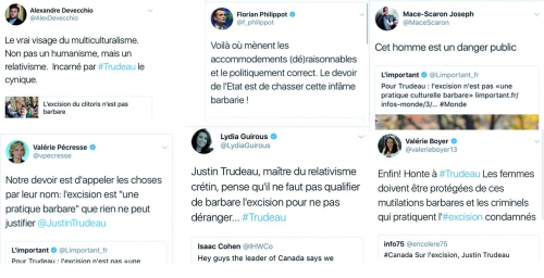 communautarisme, excision, Justin_Trudeau, Laïcité, multiculturel, religions